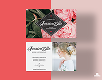 Free Bridal Photography Business Card Template