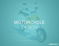 Electric motorcycle design