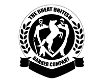 The Great British Barber Company Logo Design