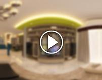 Panoramic Generated Videos (Interior Design)