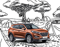 Hyundai Social Media Posts