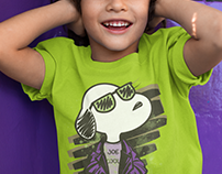 Snoopy Joe Cool Remake T-Shirt