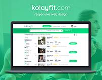 kolayfit.com - UX/UI Web Design