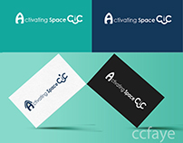 Activating Space Logo Design
