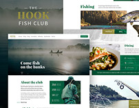 Fish club website design