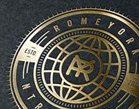 ROME YORK NTRTNMNT LLC _ Brand identity