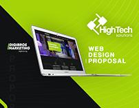 HTS Panamá   Web Design Proposal