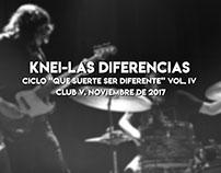 Knei-Las diferencias| Noviembre de 2017.