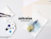 Zeitreise - WordPress Portfolio Theme by elmastudio