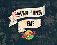 Original Pilipino Meals by Lydia's Lechon