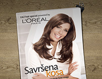 booklet for L'Oréal Paris