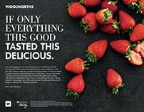 Woolworths Food - Discovery Vitality Print Campaign