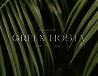 GREEN HOSTA BOUTIQUE HOTEL BRANDING