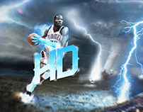 Kevin Durant : Bring the Thunder