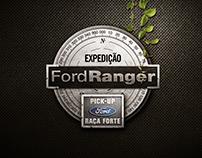 Ilustração e Key visual Ação de Lançamento Ford Ranger