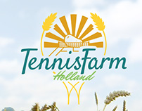 Tennis Farm Holland - Logo Design