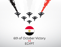 6th of October Victory - Egypt Victory