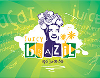 Graphic Design - Branding (Juicy Brazil)