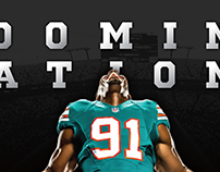 Miami Dolphins Throwback Posters