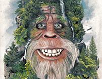 Harry tribute alternative movie poster painting design