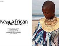 New African Woman Editorial for Fashion Shift Magazine