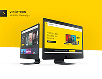 Videotron Mobility Redesign