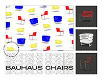 Bauhaus Chairs — Illustrations