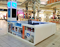 Mobily Sales Kiosk - Kingdom Center RIyadh
