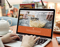 Website for Henllan Bakery
