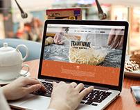Website for Henllan Bakery