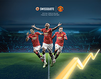 Swissquote Bank x Manchester United partnership