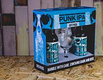 BrewDog Punk IPA Gift Pack Packaging Design