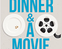 Dinner & A Movie promo poster