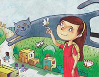 dreams illustration - book