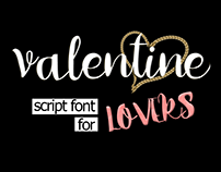 Valentine - Brush Font for Lovers