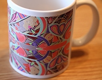 Art cups by LERAN STUDIO