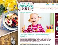 Boston Market Holiday Hub Website Backgrounds