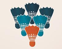UAL Badminton Club Poster 2015