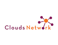 Clouds Network Logo Design