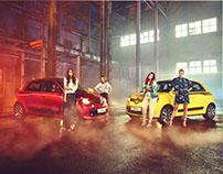 Renault Twingo Campaign Photoshoot