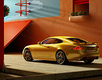 Jaguar XK / Full CGI Still Life