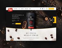 Sido - website for Polish coffee maker.