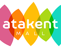 Создание бренда ~ «Atakent Mall» ~ brand development