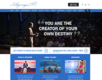Personal Website for Master Coach Sathya, Banglore