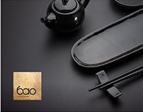 BAO. Panasian food restaurant. Logo. Branding