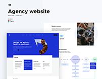 UI Design - Agency website
