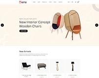 Diana - Furniture Shopify Theme