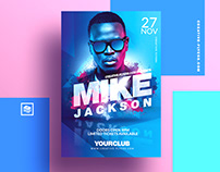 "Dj Flyer Template ""Photoshop PSD"""