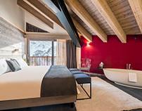 Boutique Hotel suites design