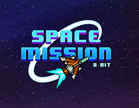 Space Mission 8-bit Game